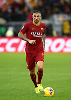 Football, Serie A: AS Roma - Brescia FC, Olympic stadium, Rome, November 24, 2019. <br /> Roma's Aleksandar Kolarov in action during the Italian Serie A football match between Roma and Brescia at Olympic stadium in Rome, on November 24, 2019. <br /> UPDATE IMAGES PRESS/Isabella Bonotto