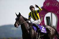 FUCHU,JAPAN-MAY 21: Soul Stirring,ridden by Christophe Lemaire, after winning the Japanese Oaks at Tokyo Racecourse on May 21,2017 in Fuchu,Tokyo,Japan (Photo by Kaz Ishida/Eclipse Sportswire/Getty Images)