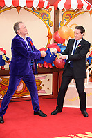 Hugh Bonneville and Hugh Grant<br /> at the &quot;Paddington 2&quot; premiere, NFT South Bank,  London<br /> <br /> <br /> &copy;Ash Knotek  D3346  05/11/2017