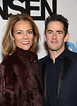 Andy Blankenbuehler and wife Elly attends the Broadway Opening Night Performance of 'Dear Evan Hansen'  at The Music Box Theatre on December 4, 2016 in New York City.