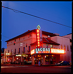 The Bagdad Theater in the Hawthorne District, Portland, OR