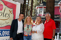 "LOS ANGELES - JUL 1:  Dominique Zoida, Katherine Kelly Lang, Laure Kagan, Spencer Kagan at the ""Crops of Luv"" Scrapbooking Event at the Apples Bed and Breakfast Inn on July 1, 2017 in Big Bear Lake, CA"