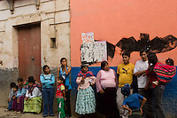 14.02.2010 Coroico(Bolivia)<br /> <br /> Street scene during the carnival.<br /> <br /> Sc&egrave;ne de rue pendant le carnaval.