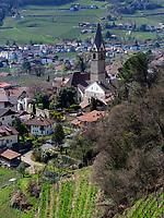 Ortsteil Dorf von Algund-Lagundo, Provinz Bozen &ndash; S&uuml;dtirol, Italien<br /> district Dorf of Algund-Lagundo, province Bozen-South Tyrol, Italy
