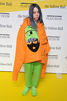 BROOKLYN, NY - SEPTEMBER 10: Billie Eilish at The Yellow Ball at The Brooklyn Museum in New York City on September 10, 2018. <br /> CAP/MPI99<br /> &copy;MPI99/Capital Pictures