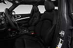 Front seat view of 2017 MINI Cooper Clubman-S-ALL4 5 Door Wagon Front Seat  car photos