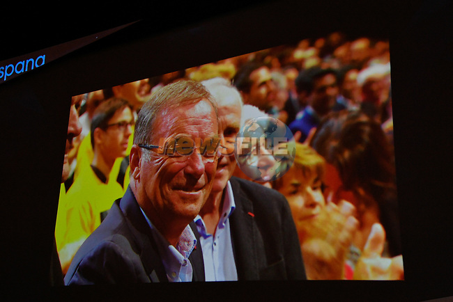 Tour de France 2017 - 18/10/2016 - Palais des congres - Paris - France - Presentation du parcours - Bernard HINAULT