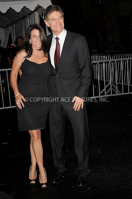 WWW.ACEPIXS.COM . . . . . .June 9, 2011...New York City...Lisa Oz and Dr.Mehmet Oz enters the Stephan Weiss Studios on June 9, 2011 in New York City.  on June 9, 2011 in New York City.....Please byline: KRISTIN CALLAHAN - ACEPIXS.COM.. . . . . . ..Ace Pictures, Inc: ..tel: (212) 243 8787 or (646) 769 0430..e-mail: info@acepixs.com..web: http://www.acepixs.com .