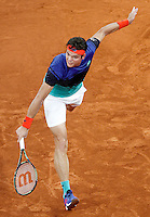 Milos Raonic, Canada, during Madrid Open Tennis 2016 match.May, 6, 2016.(ALTERPHOTOS/Acero) /NortePhoto.com