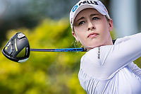 Nelly Korda of USA in act during day 4 of HSBC Women's World Championship 2018 at Sentosa Golf Club, Sentosa,, Singapore, on 4  March 2018, Singapore.  Photo by : Ike Li / Prezz Images