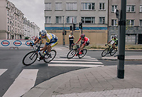 race leaders in the streets of Antwerp<br /> <br /> 2017 National Championships Belgium - Elite Men - Road Race (NC)<br /> 1 Day Race: Antwerpen > Antwerpen (233km)