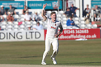 Sam Cook of Essex appeals for the wicket of Lewis Gregory during Essex CCC vs Somerset CCC, Specsavers County Championship Division 1 Cricket at The Cloudfm County Ground on 27th June 2018