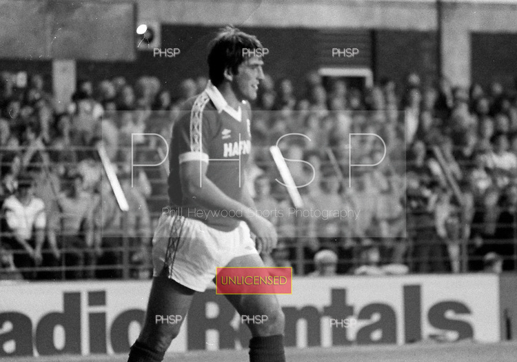 26/08/1980 Everton v Blackpool League Cup 2nd Round 1st Leg .Bob Latchford....© Phill Heywood.