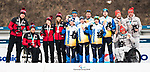 PyeongChang 18/3/2018 - Mark Arendz, Emily Young, Natalie Wilkie and Chris Klebl take the silver in the mixed relay cross country race at the Alpensia Biathlon Centre during the 2018 Winter Paralympic Games in Pyeongchang, Korea. Photo: Dave Holland/Canadian Paralympic Committee