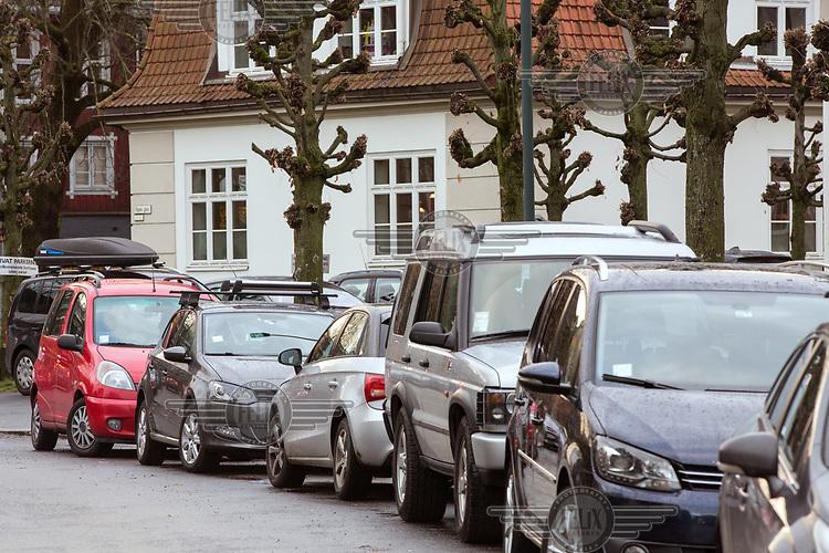 Maren Synnev&aring;g liker beboerparkering.<br /> <br />  &copy; Fredrik Naumann/Felix Features