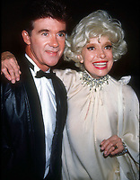 Alan Thicke Carol Channing 1990<br /> Photo By Adam Scull/PHOTOlink.net