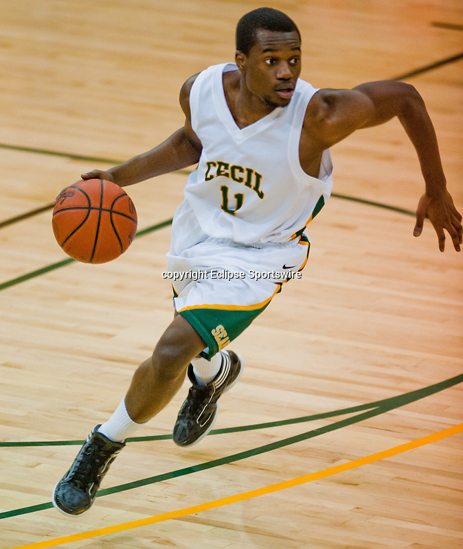 Scenes from the Cecil College versus Montgomery-Germantown Community College at Cecil College in North East, Maryland