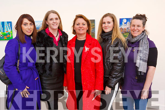 Attending the Mercy Mounthawk play My Fair Lady in Siamsa Tire on Thursday night last.  <br /> L-r,  Deirdre Lyons, Caroline Kennedy, Maggie Griffin, Sadbh Griffin and Cathriona Daly.