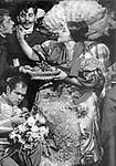"""Зинаида Райх в роли Анны Андреевны """"Ревизор"""" Н.В.Гоголя. Эпизод 13 """"Торжество как торжество"""". Автор спектакля В.Э.Мейерхольд ГосТИМ. Премьера 9 декабря 1926. / Zinaida Raih as Anna Andreevna """"Inspector General"""" by N.V.Gogol. Episod 13 """"Triunph as triumph""""/ Author of performance V.E.Meyerhold GosTIM. Premier on December 9, 1926."""