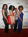 Producer Barbara Hamilton,  Actress Shai Shockley, Pat and Scarlet Cord Entertainment's CEO Carla Debbie Alleyne attend COVERGIRL Queen Collection Presents The 2nd Annual Blackout Awards Held at Newark Hilton Gateway, NJ 6/12/11