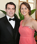 2/8/2014   (with compliments). Alan's Sport Extravaganza Slick and Stylish Ball in the South Court Hotel, Limerick which was held in memory of Alan Feeley and in aid of the Irish Kidney Association(IKA).  Pictured are David Madden, Sth Circular road, Limerick and Caitriona O'Dwyer, Tipperary town.Picture Liam Burke/Press 22