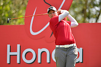 PATTAYA, THAILAND - FEBRUARY 22: Katherine Kirk of Australia on the 17th tee during the second round of the Honda LPGA Thailand 2019 at Siam Country Club Pattaya (Old Course), Pattaya, Thailand on February 22, 2019.<br /> .<br /> .<br /> .<br /> (Photo by: Naratip Golf Srisupab/SEALs Sports Images)<br /> .<br /> Any image use must include a mandatory credit line adjacent to the content which should read: Naratip Golf Srisupab/SEALs Sports Images