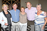 DANCE: Dancing the night away at the Brandon Hotel Conference Centre to Brendan Shine on Monday night were, L-r: Helen Butler, John and Maureen Foley, Paul Claffey and Peggy O'Shea.