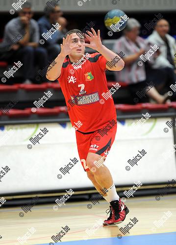 2012-09-15 / Handbal / seizoen 2012-2013 / Sasja Antwerpen / Dennis Thijs..Foto: Mpics.be