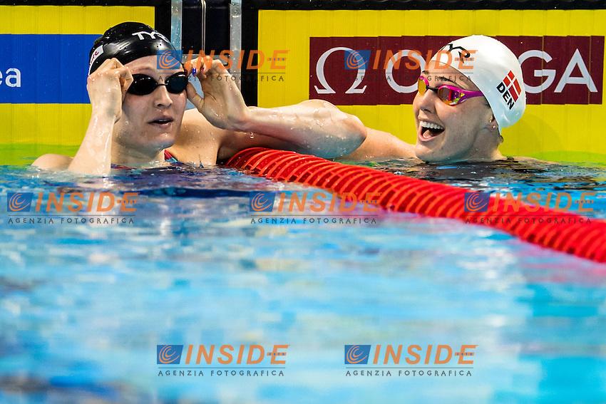 WORRELL Kelsi Silver Medal<br /> OTTESEN Jeanette DEN Gold Medal<br /> Women's 50m Butterfly<br /> 13th Fina World Swimming Championships 25m <br /> Windsor  Dec. 9th, 2016 - Day04 Finals<br /> WFCU Centre - Windsor Ontario Canada CAN <br /> 20161209 WFCU Centre - Windsor Ontario Canada CAN <br /> Photo &copy; Giorgio Scala/Deepbluemedia/Insidefoto