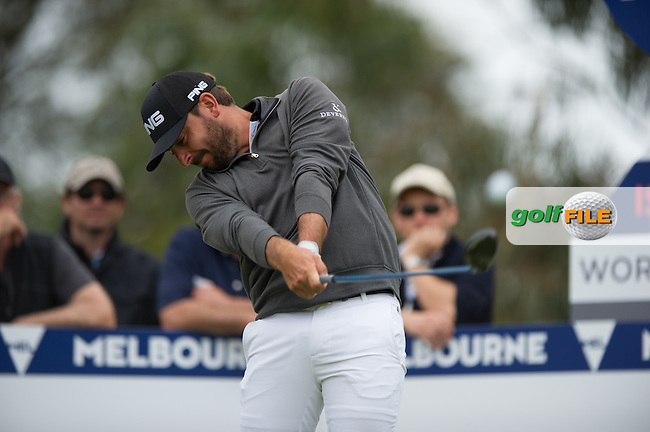 Stephen Jaeger (GER) during the final round at the ISPS Handa World Cup of Golf, from Kingston heath Golf Club, Melbourne Australia. 27/11/2016<br /> Picture: Golffile | Anthony Powter<br /> <br /> <br /> All photo usage must carry mandatory copyright credit (&copy; Golffile | Anthony Powter)