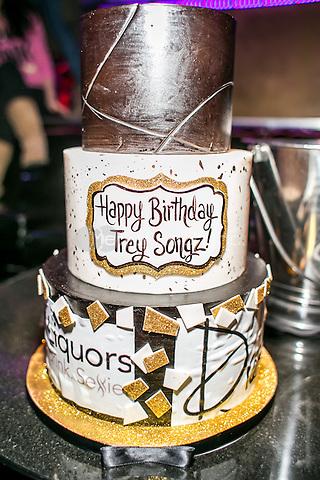 Trey Songz Birthday Cake