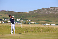 Gary Brennan playing with Eddie Pepperell (ENG) during the ProAm of the 2018 Dubai Duty Free Irish Open, Ballyliffin Golf Club, Ballyliffin, Co Donegal, Ireland.<br /> Picture: Golffile | Jenny Matthews<br /> <br /> <br /> All photo usage must carry mandatory copyright credit (&copy; Golffile | Jenny Matthews)