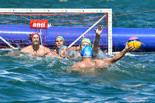 19.12.2015.  Sydney, Australia.  Water Polo Series By The Sea. International Test Series Australia versus Italy. Game 2 at Campbell's Cove. Italy won 14-10.