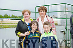 l-r  Shane Fitzgerald, Adam Tagney, Marie Fitzgerald and Eileen Collins  enjoying  the Kerry GAA Night of Champions at the Kingdom Greyhound Stadium on Friday