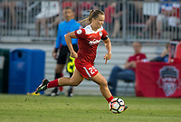 Boyds, MD. - Saturday, June 24 2017:  Meggie Dougherty Howard during a regular season National Women's Soccer League (NWSL) match between the Washington Spirit and the Portland Thorns FC at Maureen Hendricks Field, Maryland SoccerPlex.<br />  The Washington Spirit defeated the Portland Thorns FC 1-0.