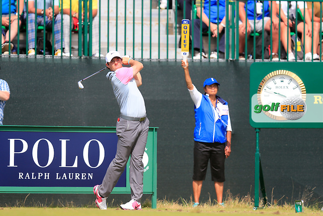Rory MCILROY (NIR) during round four of The 143rd Open championship Royal Liverpool Golf club, Hoylake, England.: Picture Eoin Clarke, www.golffile.ie: 20th July 2014