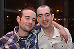 Darren Gillespie and Alan Brennan celebrating New Years Eve in Bru...(Photo credit should read www.newsfile.ie)....This Picture has been sent you under the conditions enclosed by:.Newsfile Ltd..The Studio,.Millmount Abbey,.Drogheda,.Co Meath..Ireland..Tel: +353(0)41-9871240.Fax: +353(0)41-9871260.GSM: +353(0)86-2500958.email: pictures@newsfile.ie.www.newsfile.ie.