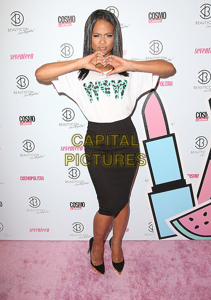 11 July 2015 - Los Angeles, California - Christina Milian. 4th Annual BeautyCon LA Festival held at The Reef DTLA. <br /> CAP/ADM/FS<br /> &copy;FS/ADM/Capital Pictures