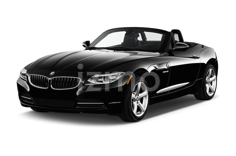 2016 BMW Z4 sDrive28i 2 Door Convertible Angular Front stock photos of front three quarter view