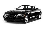 2016 BMW Z4 sDrive28i 2 Door Convertible Angular Front stock photos of front three quarter view