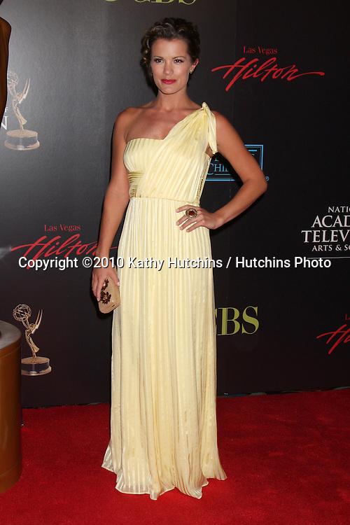 Melissa Claire Egan.arrives at the 2010 Daytime Emmy Awards .Las Vegas Hilton Hotel & Casino.Las Vegas, NV.June 27, 2010.©2010 Kathy Hutchins / Hutchins Photo....