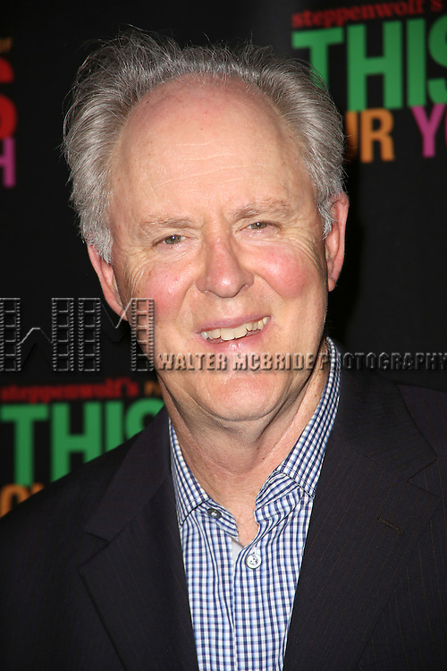 John Lithgow attends the Broadway Opening Night Performance of 'This Is Our Youth' at the Cort Theatre on September 11, 2014 in New York City.