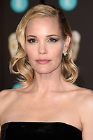 Leslie Bibb arriving for the BAFTA Film Awards 2018 at the Royal Albert Hall, London, UK. <br /> 18 February  2018<br /> Picture: Steve Vas/Featureflash/SilverHub 0208 004 5359 sales@silverhubmedia.com