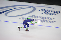 SPEEDSKATING: CALGARY: 13-11-2015, Olympic Oval, ISU World Cup, 3000m, Annouk van der Weijden (NED), ©foto Martin de Jong