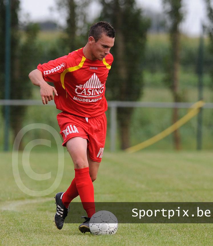 SK Spermalie : Jens Desrousseaux.foto VDB / BART VANDENBROUCKE