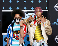 LOS ANGELES - JUN 25:  Ayo and Teo at the BET Awards 2017 at the Microsoft Theater on June 25, 2017 in Los Angeles, CA