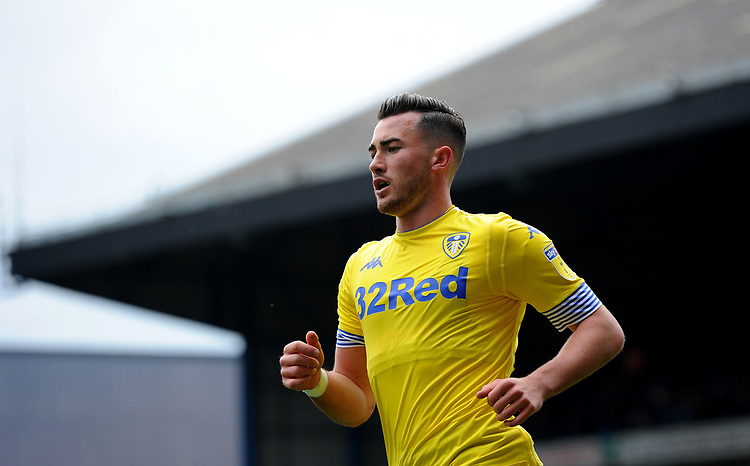 Leeds United's Jack Harrison<br /> <br /> Photographer Hannah Fountain/CameraSport<br /> <br /> The EFL Sky Bet Championship - Ipswich Town v Leeds United - Sunday 5th May 2019 - Portman Road - Ipswich<br /> <br /> World Copyright © 2019 CameraSport. All rights reserved. 43 Linden Ave. Countesthorpe. Leicester. England. LE8 5PG - Tel: +44 (0) 116 277 4147 - admin@camerasport.com - www.camerasport.com