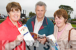Nuala O'Carroll, Asdee enjoying the races on Thursday with Michael and Joan McElligott from Listowel.