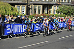 The Harrogate circuit during the Women Elite Road Race of the UCI World Championships 2019 running 149.4km from Bradford to Harrogate, England. 28th September 2019.<br /> Picture: Andy Brady | Cyclefile<br /> <br /> All photos usage must carry mandatory copyright credit (© Cyclefile | Andy Brady)