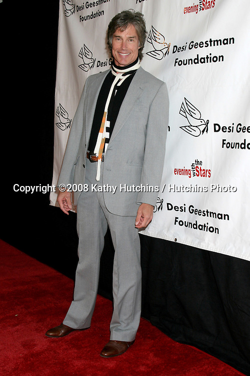 Ronn Moss  arriving at the Desi Geestman Foundataion Annual Evening with the Stars at the Universal Sheraton Hotel in Los Angeles, CA.October 11, 2008.©2008 Kathy Hutchins / Hutchins Photo...                .